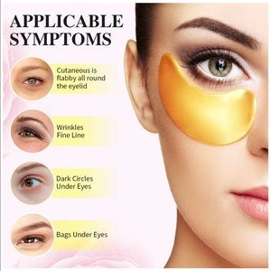 60 Pcs Collagen Under Eye Gel Patches